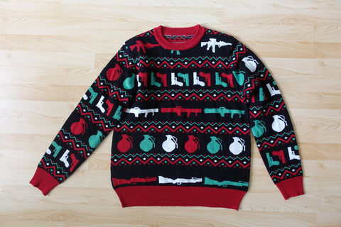 KNITTED Tools Of The Trade Christmas Sweater UNISEX
