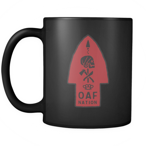 OAF Arrow - Black Red - Coffee Mug