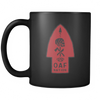 Bad Larry - Black Red - Coffee Mug