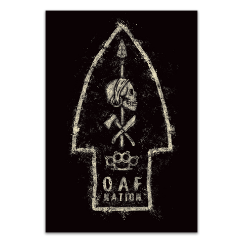 OAF NATION - POSTER