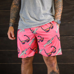 SUNNIES-N-SCARS WEEKEND SHORTS