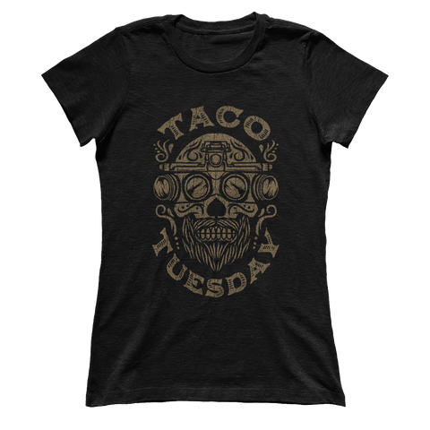Taco Tuesday Skull - Ladies
