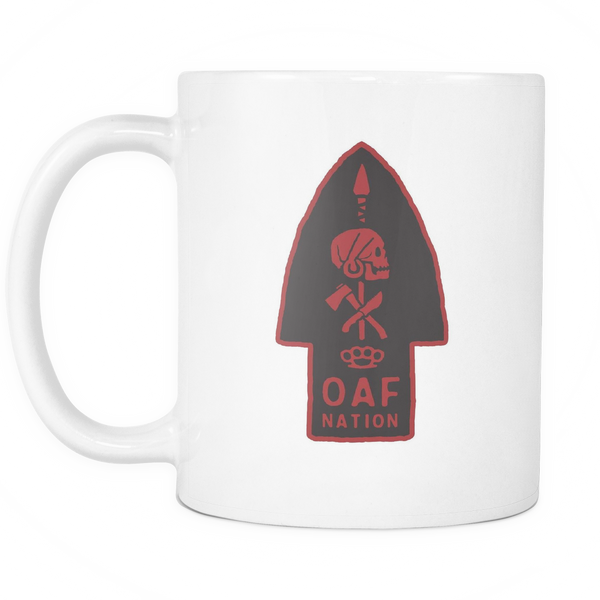 OAF Arrow - Red Black - Coffee Mug