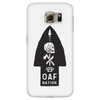 OAF Arrow - White Black Opaque