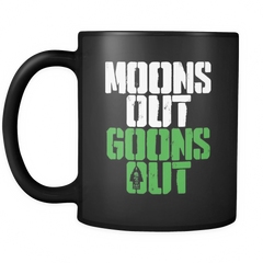 Moons Out Goons Out V2 - Coffee Mug