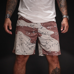 Chocolate Chip Camo Weekend Shorts