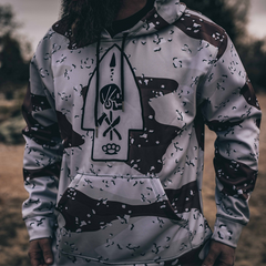 Chocolate Chip Camo Bad Larry Hoodie