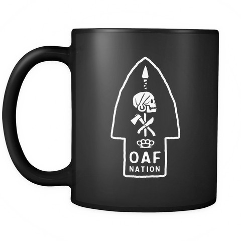 OAF Arrow - White - Coffee Mug