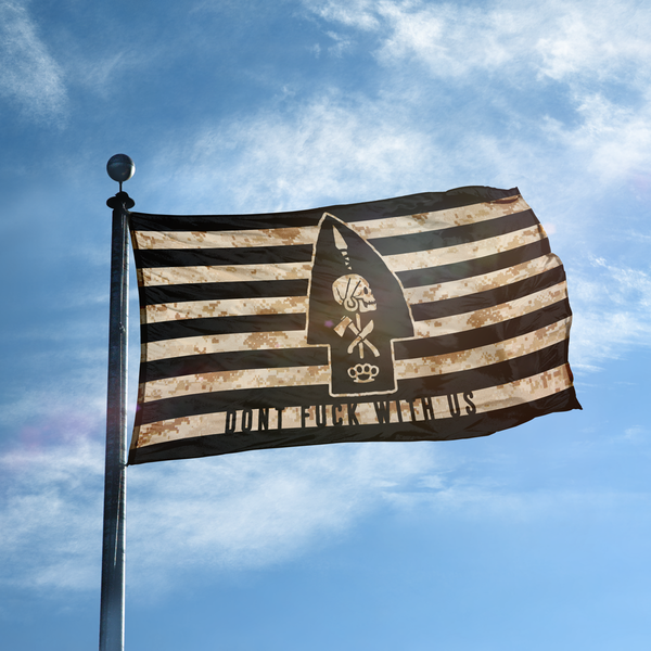 Don't F**k With Us Platoon/Team Flag  AOR1
