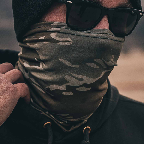 Dark Desert Tiger Neck Gaiter