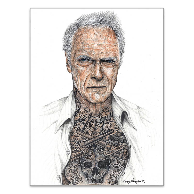 INKED - Eastwood - Poster
