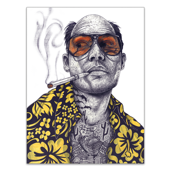 INKED Fear and Loathing - Poster
