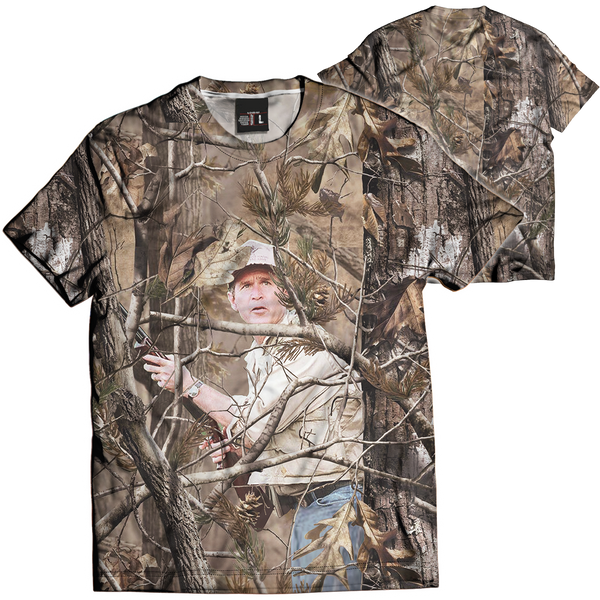 Unreal Tree: George Bush Tee