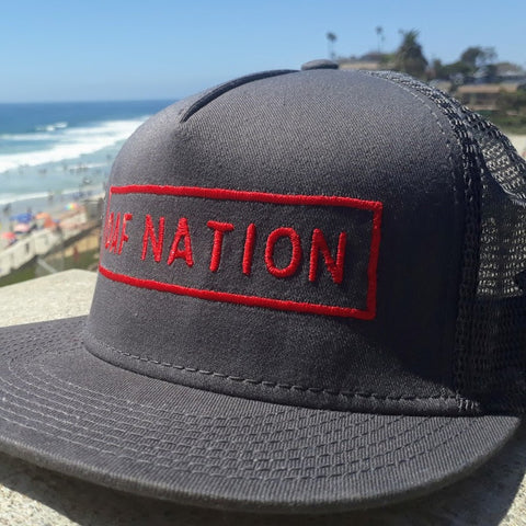 OAF Nation Flatbill Snapback - Gray