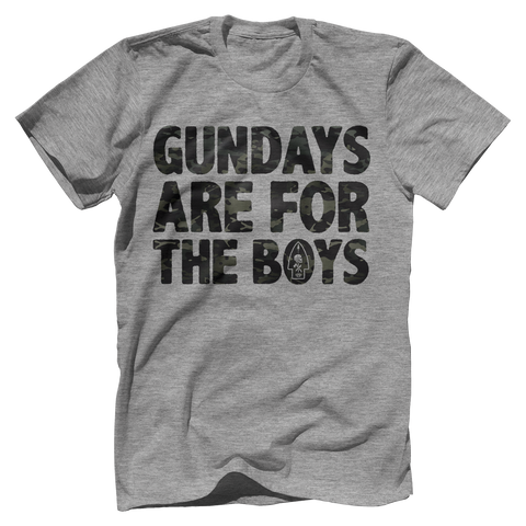 Gundays are for the Boys