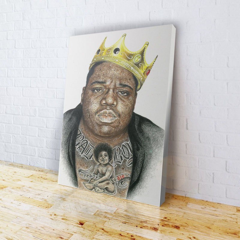 INKED - Biggie Canvas