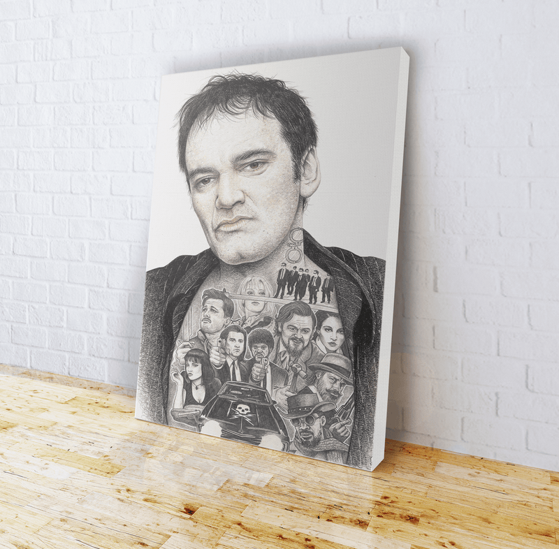 INKED - Tarantino Canvas