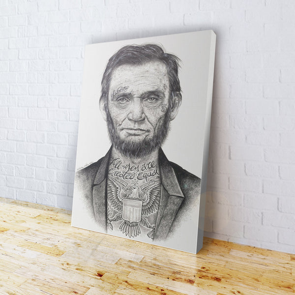 INKED - Lincoln Canvas