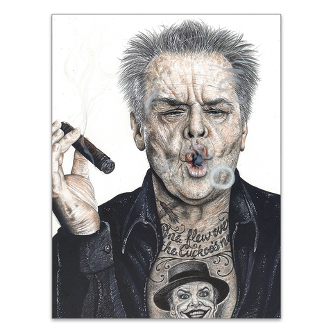 INKED Nicholson - Poster