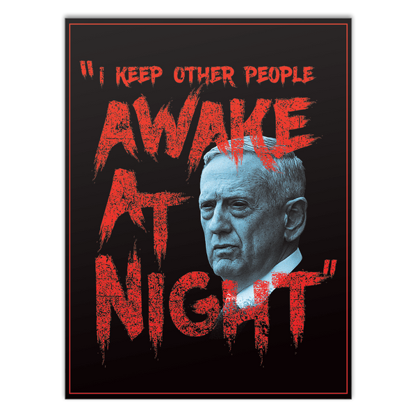 Awake at Night - Mattis - Poster
