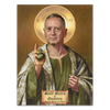 St. Mattis The Patron Saint of Chaos - Poster