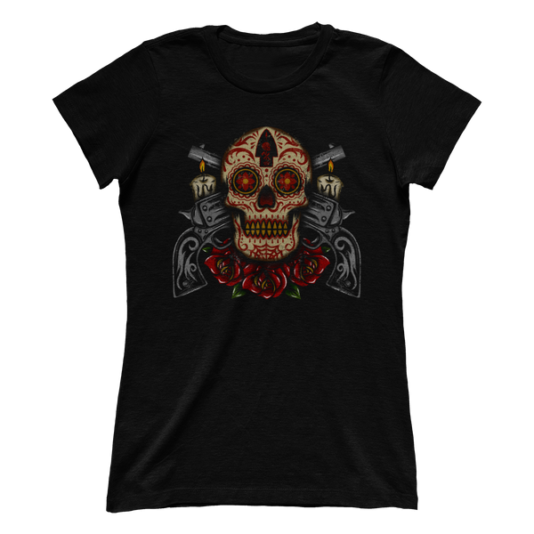 Sugar Skull Revolver V2 (Ladies)