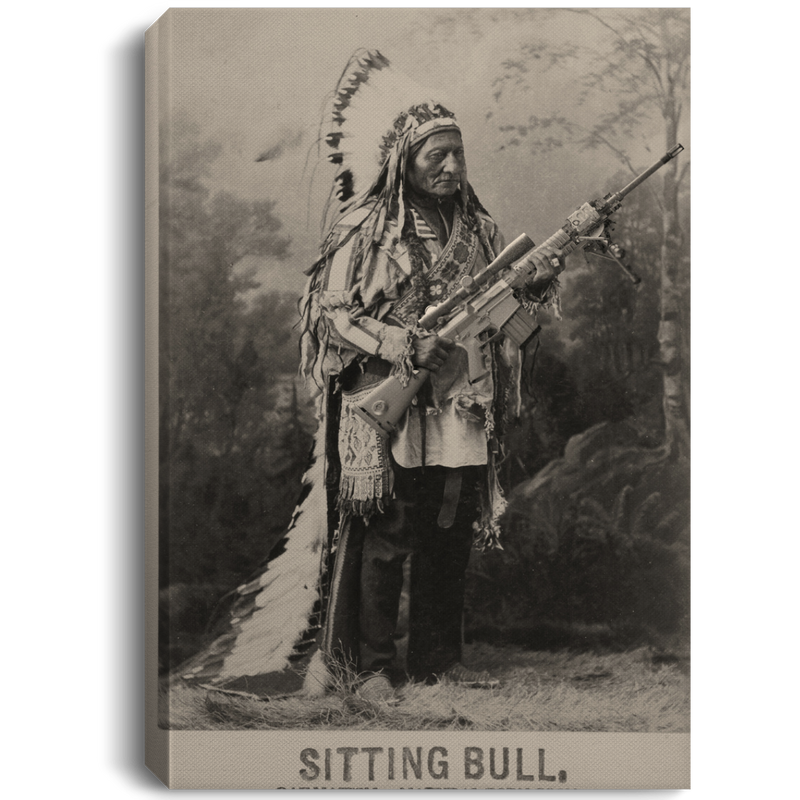Sitting Bull (Canvas)