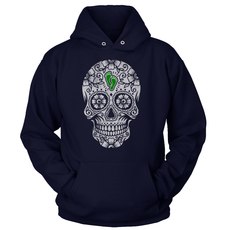 PJ Foundation Sugar Skull - Green