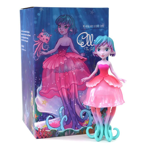 Ellie the Jellyfish Princess  by  MJ Hsu  x UVD Toys