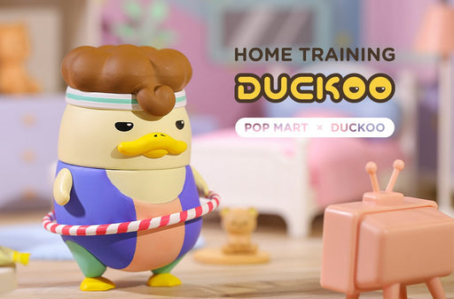 Duckoo Home Training Series by Chokocider x POP Mart