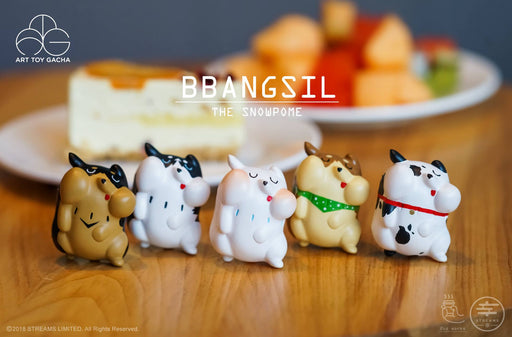 BBANGSIL the Snowpome Gacha Series 1  by  2oz  x  Streams Art Toy