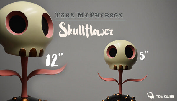 "Skull Flowers by Tara McPherson 5"" or 12"""
