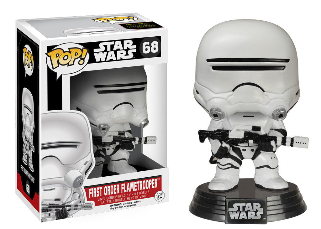 Star Wars Force Awakens: First Order Flametrooper