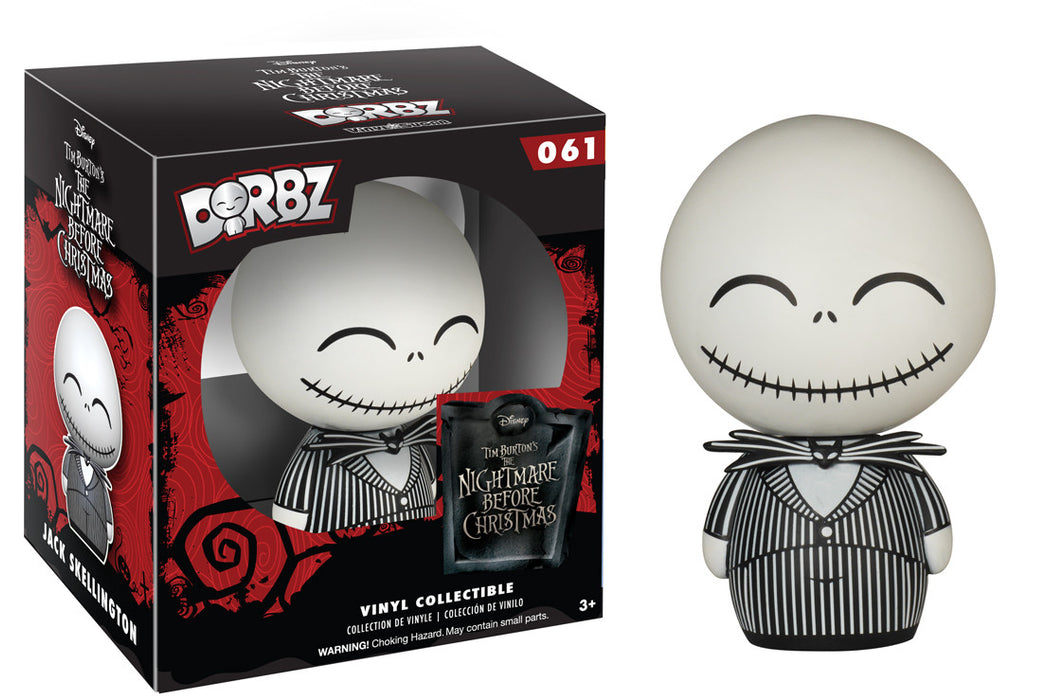 Nightmare Before Christmas: Jack Skellington Funko Dorbz