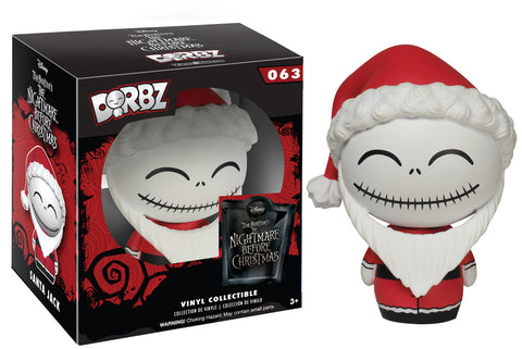 Nightmare Before Christmas: Santa Jack Funko Dorbz