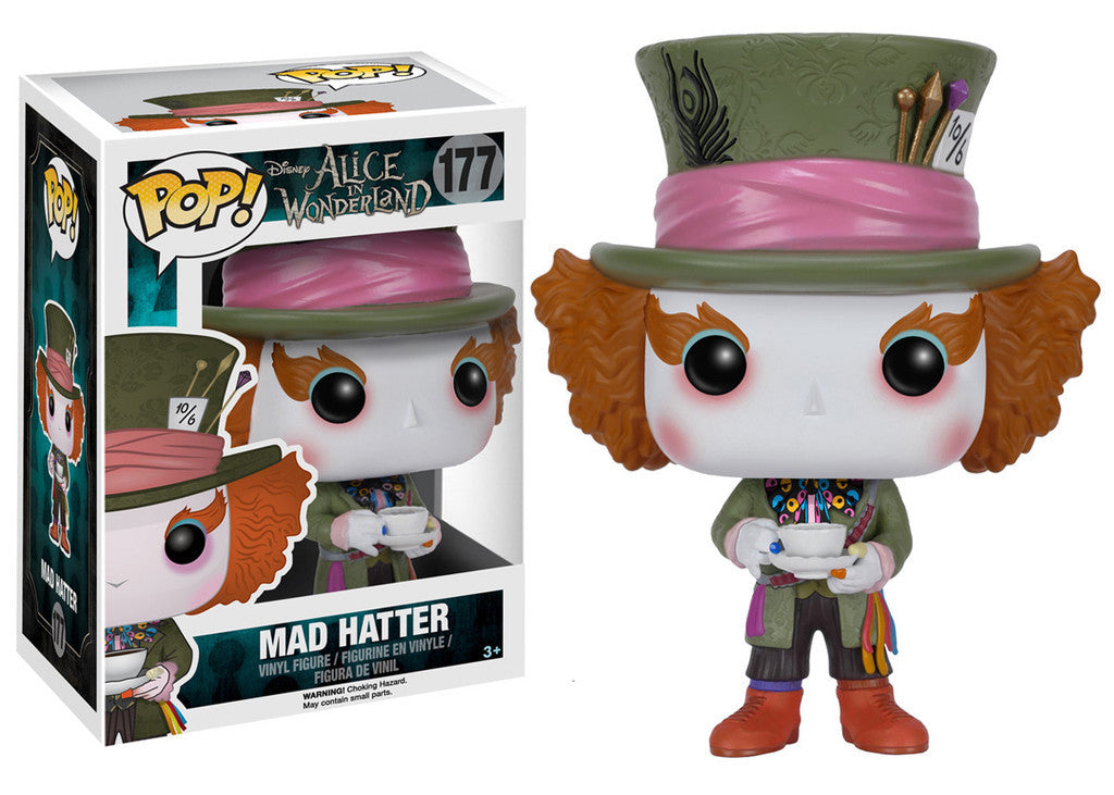 Alice in Wonderland Mad Hatter Funko Pop!