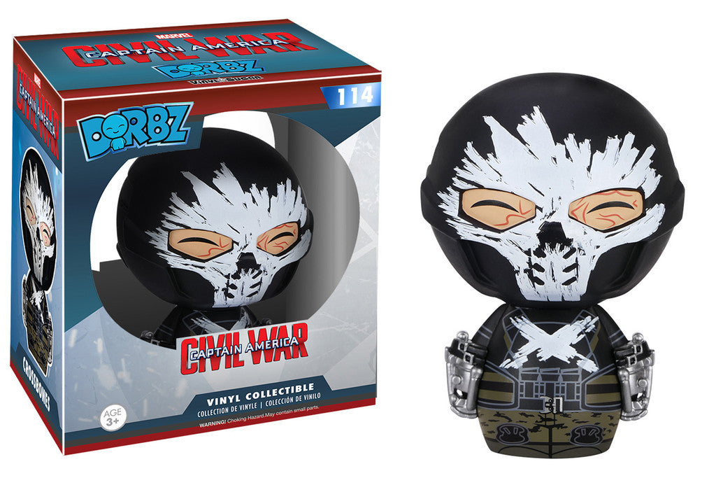 Marvel Civil War Crossbones Funko Dorbz