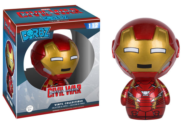 Marvel Civil War Iron Man Funko Dorbz