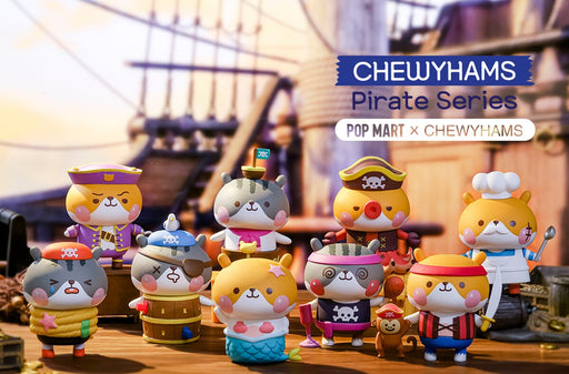 Chewyhams Pirate Series by Chewyhams x POP Mart
