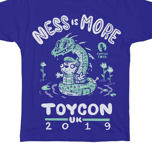NESSisMORE  -  ToyCon UK shirt by Nate Bear x MartianToys