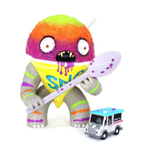 Abominable Snow Cone TROPICAL CYCLONE  by Jason Limon  x  Martian Toys
