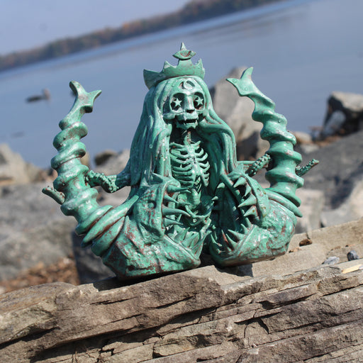 "SLAVE to the SIREN: Aegean Sea 6"" Vinyl Art Sculpture by Martian Toys"