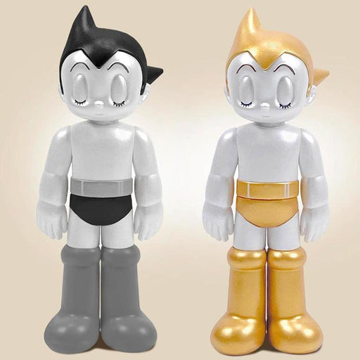 "Astro Boy PVC 5"" Closed Eyes (Gold & Silver 2-Pack) Ed.  by  TokyoToy  x  ToyQube"