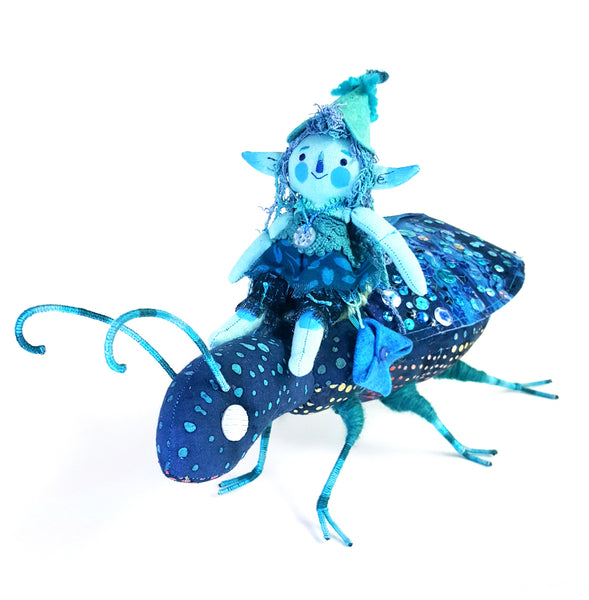 PLUSHtheLIMITS  -  Berryshroom, The Beetle Rider  by  Small Thicket