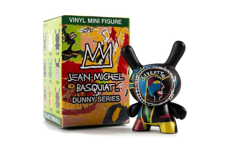 Jean Michel Basquiat Dunny Mini Series