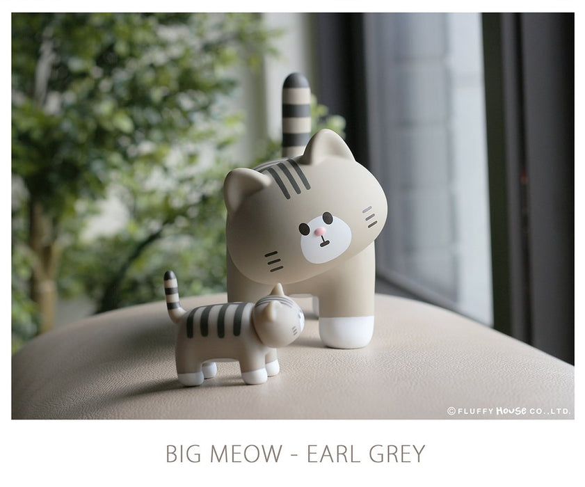 MY HOME CAT BIG MEOW SERIES – EARL GREY  x  FluffyHouse