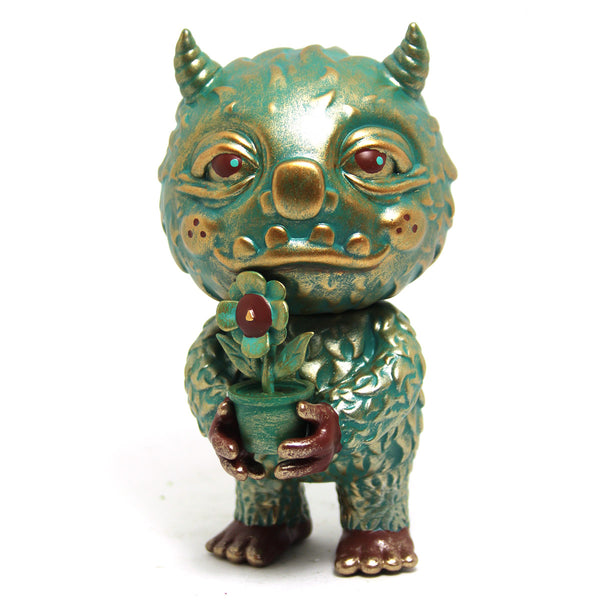 Aztec Bloofus & Poppy Gold TTE 2018 Exclusive by Mooncasket x ToyZero