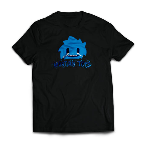 Blue Spiki T-shirt by MrBiscuit