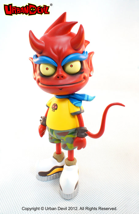 Urban Devil  Vinyl Toy  by  Pepper Jerry