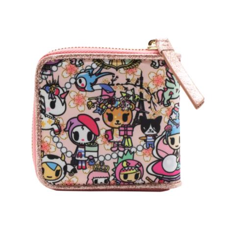 Tokidoki - Kawaii Confections - Small Zip Around Wallet